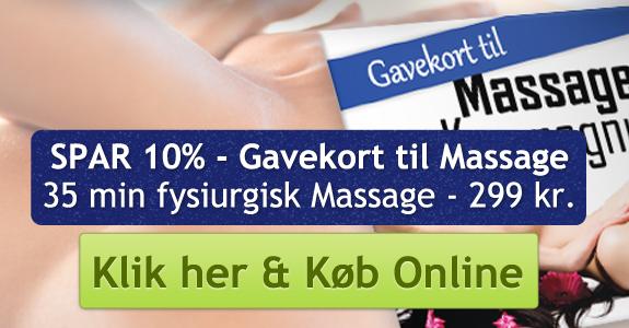 spendon gavekort københavn massage