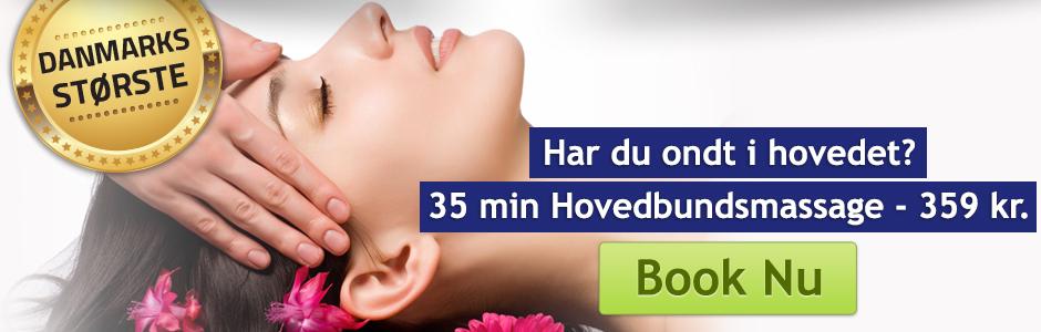 Hovedbunds og ansigtmassage København