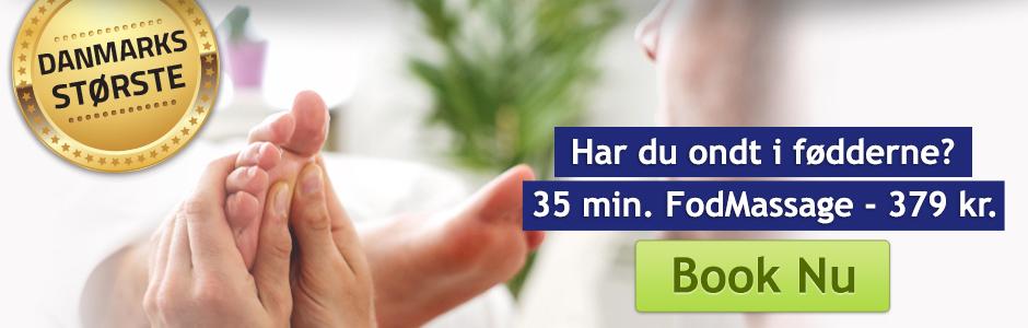 Fodmassage København