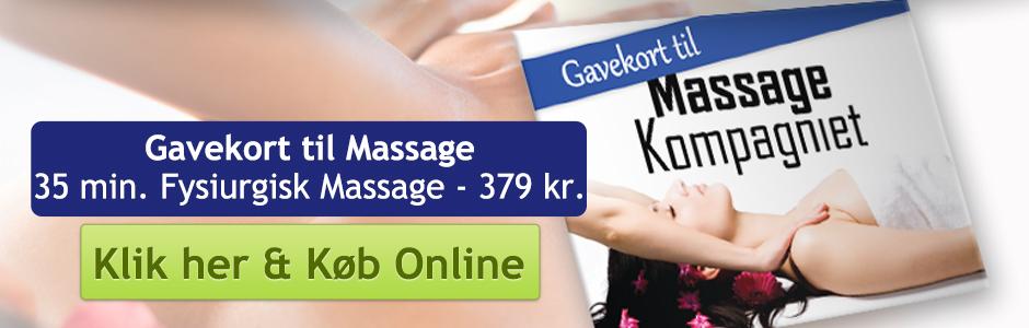 Massagegavekort København