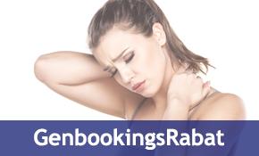 Massage Genbookings rabat