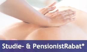 Studie og pensionistrabat paa massage